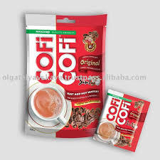 COFICOFI Original 3 in 1 instant coffee mix in a new packaging