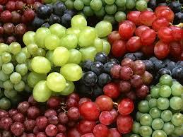 FRESH SWEET RED GRAPE FOR WINE PRODUCTION