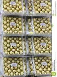 Milk ferrero rocher chocolate