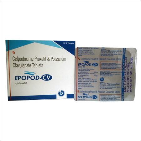 Cefpodoxime Proxetil Potassium Clavulanate Tablets