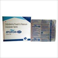 Cefpodoxime Proxetil钾Clavulanate片剂