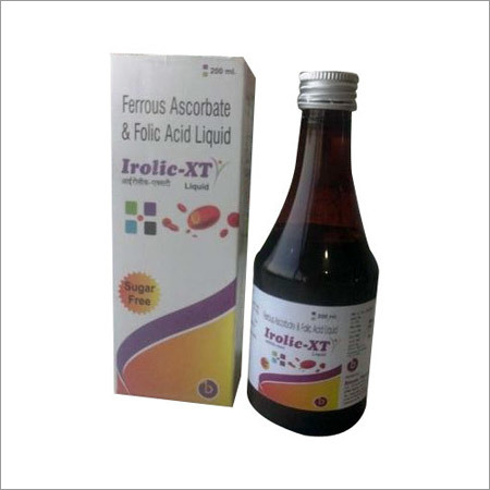 Folic Acid Liquid Syrup