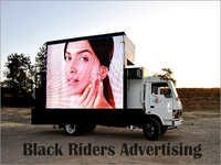 LED Advertising Vans