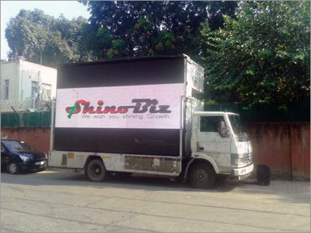 Advertising LED Mobile Van