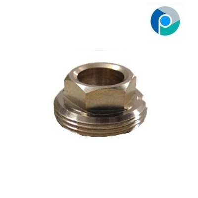 Brass Center Hex Nuts