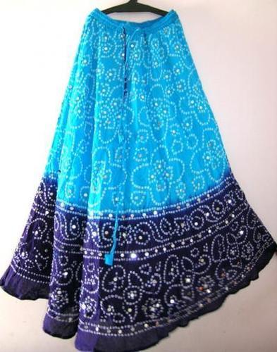 Tie Dye Long Skirts