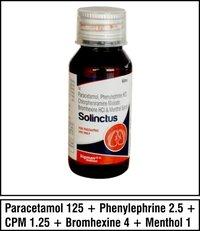 Paracetamol + Phenylephrine + CPM + Bromhexine + Menthol