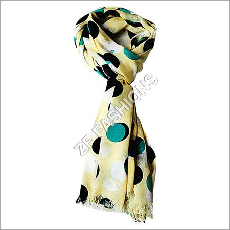 Womens Cotton Printed Scarf