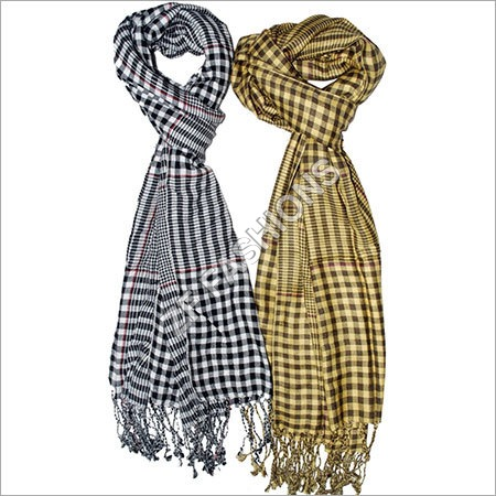 Smooth Check Scarf