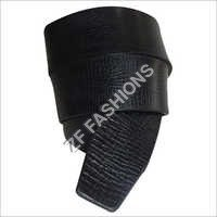 Men Black Leather Belts