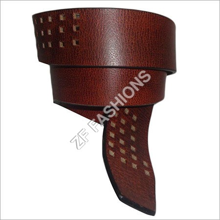 Men Brown Belts
