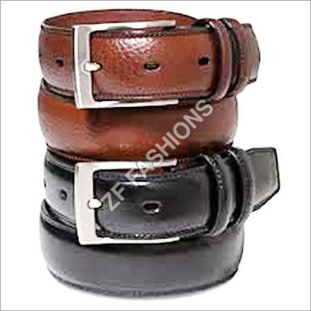 Men Leather Brown Belts