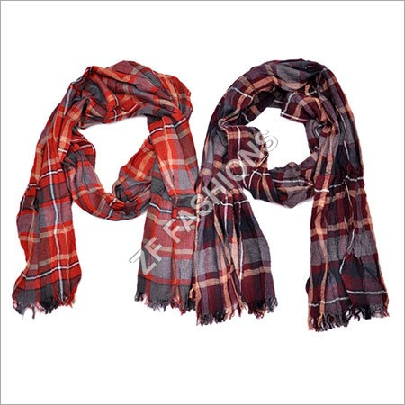 Embroidered Mens Scarf