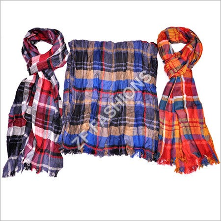 Jacquard Cotton Scarf