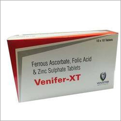 Ferrous Ascorbate Folic Acid and Zinc Sulphate Tablets