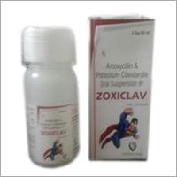 Amoxicillin and Clavulanate Oral Suspension