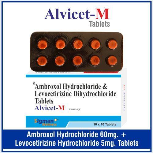 Levocetirizine  5mg+  Ambroxol 60mg