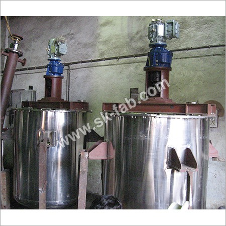 Industrial Steel Mixers
