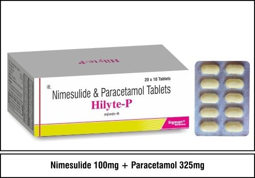 Nimesulide 100 + Paracetamol 325