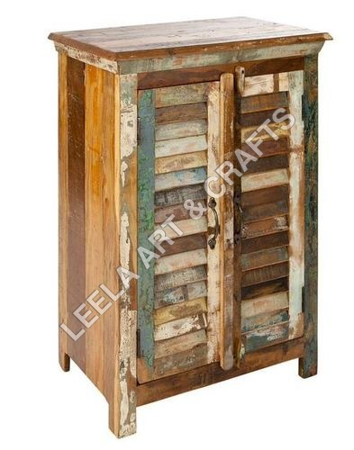 Reclaimed Wooden Wall Sideboard