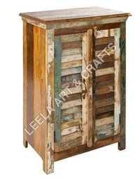 Reclaimed Wooden Wall Sideboard