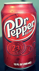 Dr Pepper Drink