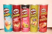Pringles Potato Chips 18x165g