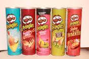 Pringles  Chips 18x165g