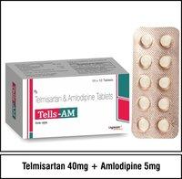 Telmisartan 40 mg.+Amlodipine 5 mg