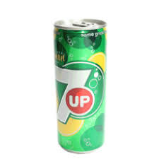 7UP SOFT DRINK  CAN