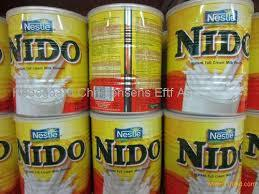 Transperent Cap Nestle Nido Milk from Holland