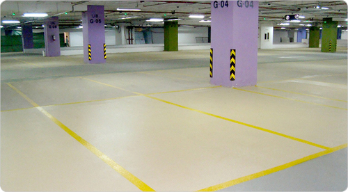Epoxy Flooring For Car Parking