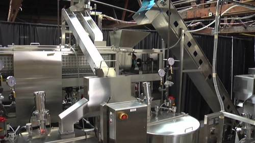 Automatic Continous Popcorn Processing Line