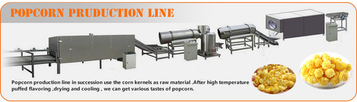 Industrial Popcorn Making Machine
