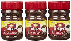 Folgers Instant Coffee for sale