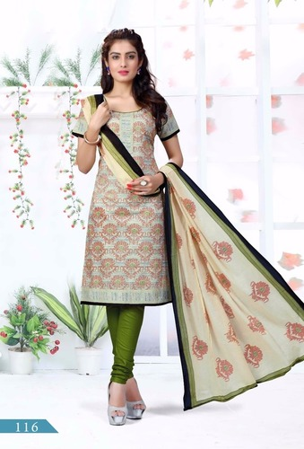 Wholesale Cotton Dress Materials Jetpur