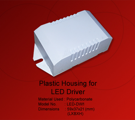 Plastic Box For LED Driver Wire Type