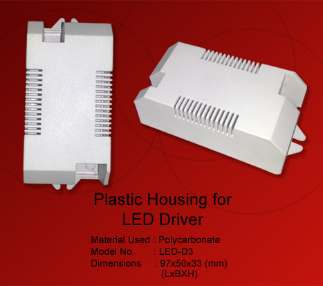 Plastic Housing LED Driver Connector