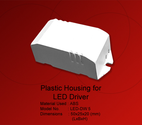 Plastic Box LED Driver Wire Type