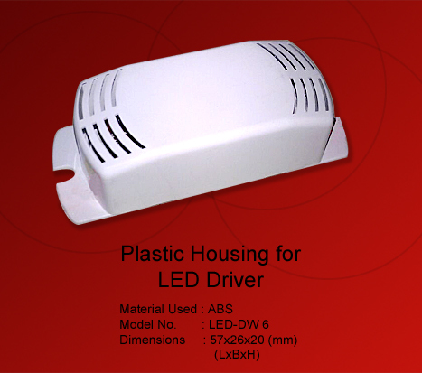 Plastic Housing for led panel Light