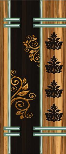 Metallic Door Skin