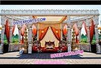 Indian Wedding Palace Mandap