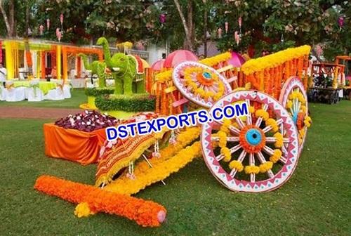 Punjabi Wedding Traditional Decoration Gadda