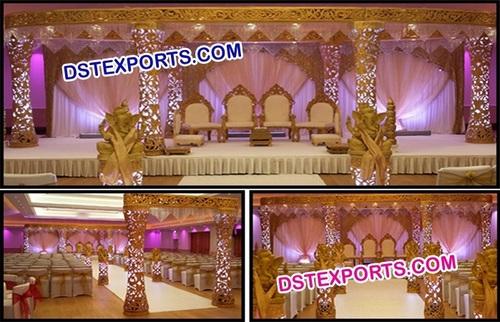 Latest Design Delizio Wedding Mandap Set