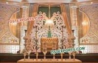 Wedding Reception Stage
