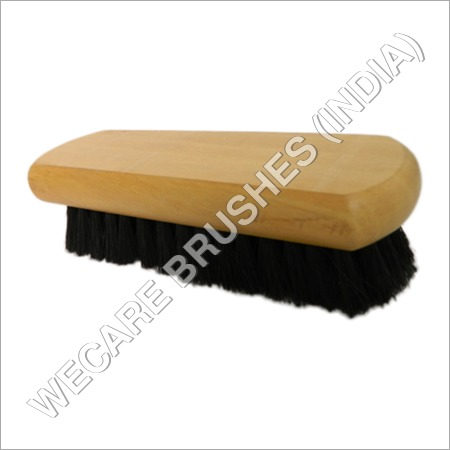 SHOE BRUSH ENROUNDED EDGE