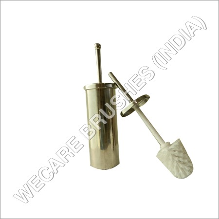 ROUND TOILET BRUSH WITH STEEL HOLDER