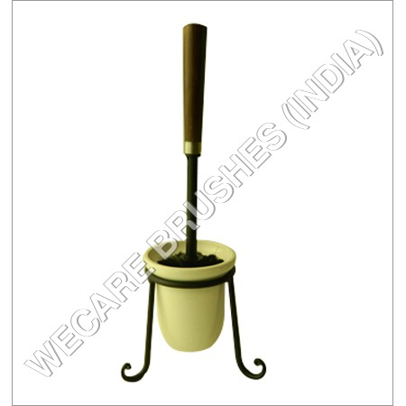 RTB WITH CERAMIC CUP HOLDER WITH ROT IRON STAND