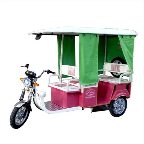 Pollution Free Passenger E Rickshaw
