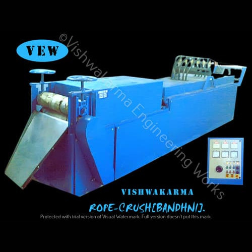 Textile Crush Machine